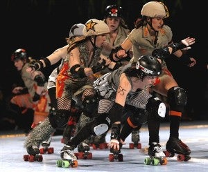 Rollergirls Are A Hit In New Jersey • Georgia O'Keeffe To Get The 'Lifetime' Treatment