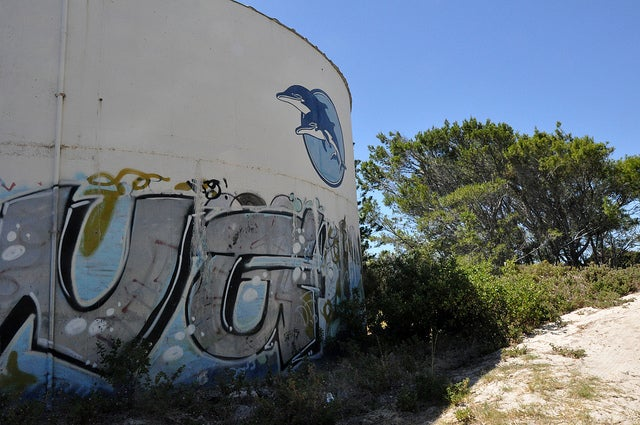 King Neptune still reigns over Western Australia's abandoned marine park