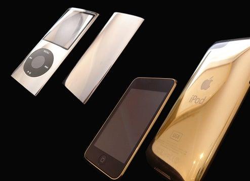 24-Karat Gold iPod Nano is a Violent Mugging Waiting to Happen