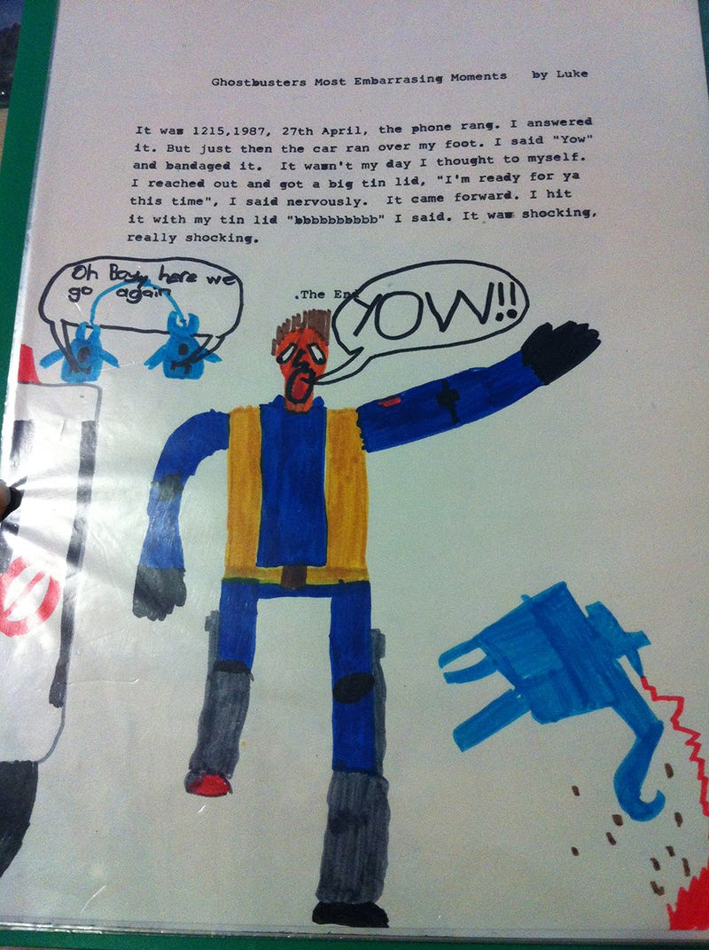 A Child's Sketchbook From the 1980s, Preserved For the 21st Century