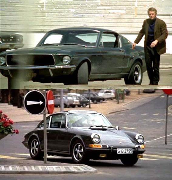 Bullitt Mustang Or Le Mans Porsche?