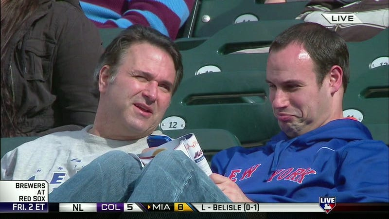 This Is The Face Of A Man Looking At The Mets Roster