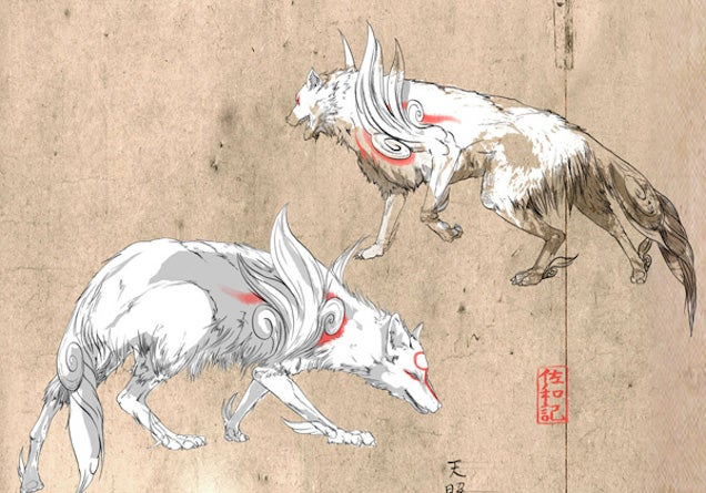 It's Not A New Okami, But At Least You Can Hang It On Your Wall