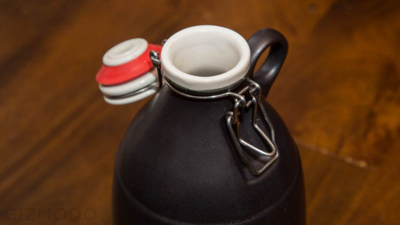 A Delicious Craft Beer Deserves a Glorious Handmade Growler