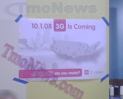 T-Mobile's 3G Will Probably Launch October 1. Probably.