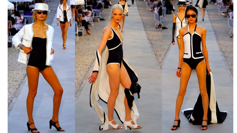 The Chanel Cruise Show Is For Wealthy Blake Lively Fans Who Like High-Heeled Thong Sandals