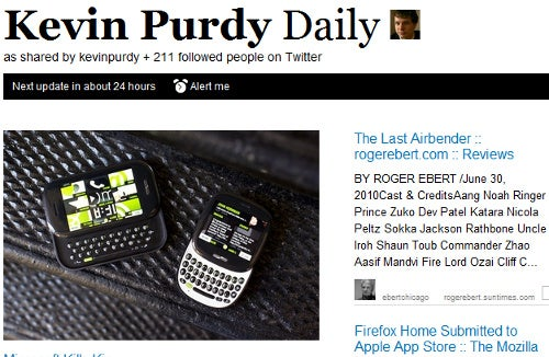 Paper.li Curates Twitter Links into a Personal News-Style Digest