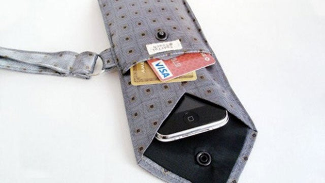 Turn a Necktie into a Smartphone Case and Wallet