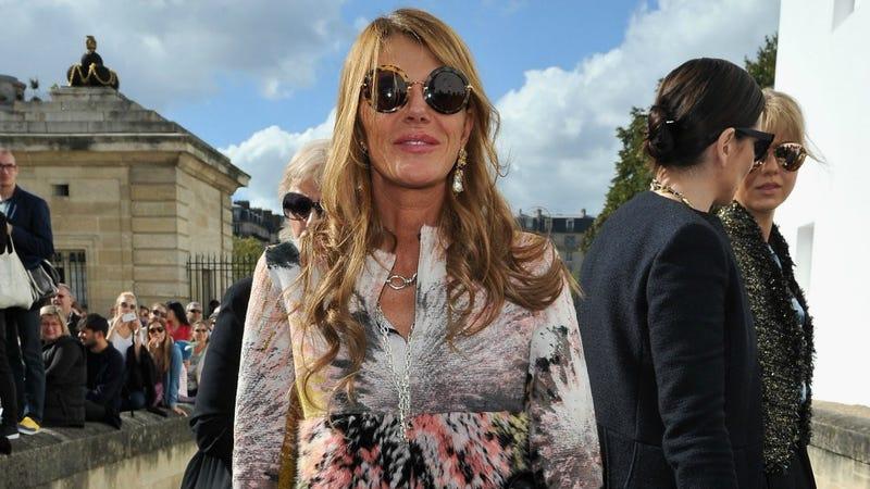 Anna Della Russo Channels Sergeant Pepper in Paris