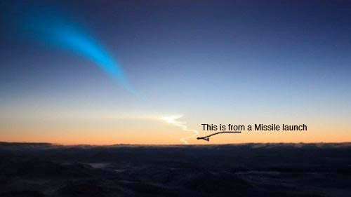 Missile Trail Gallery