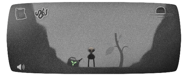 Celebrate the Roswell UFO incident by playing Google's doodle game