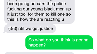 A Text Message Interview With Shana, Who Lives In Pimlico