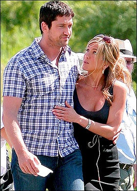 Will Gerard Butler be the Next Man to Publicly Humiliate Jennifer Aniston?