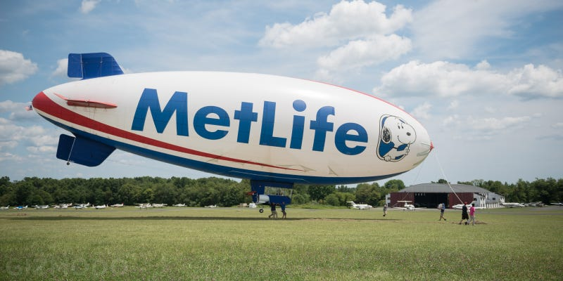 I Floated 1,000 Feet Above NYC In the MetLife Blimp