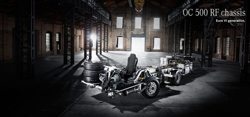 Leave it To Mercedes For a Cool Chassis Picture..
