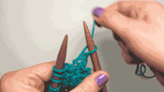 Learn How to Knit in Eight Easy GIFs