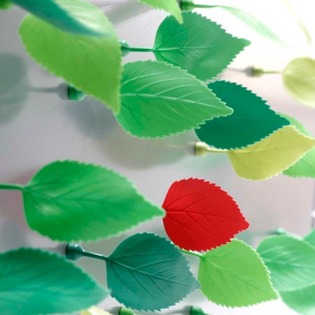 Your Fridge Gets the Forest Effect with Leaf Magnets