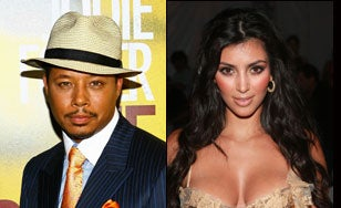 Terrence Howard Teaching Kim Kardashian How To Keep Her Famous Ass Clean?