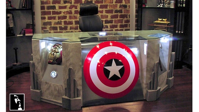This Is Where the Avengers Do All Their Paperwork