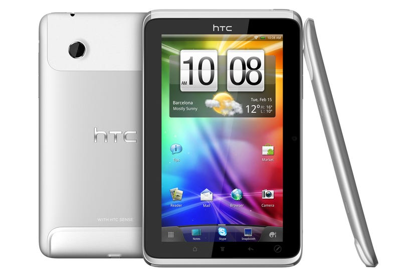 HTC Flyer, the Aluminium Android Tablet That Plays Console Games