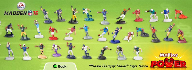 Madden NFL 15 Toys Are Coming To McDonald's Happy Meals