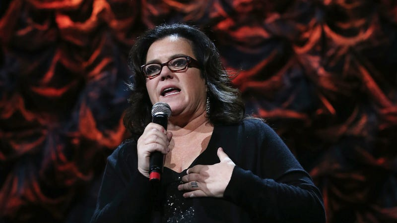 Rosie O'Donnell Wants to Know More About All This Skiing with Rifles