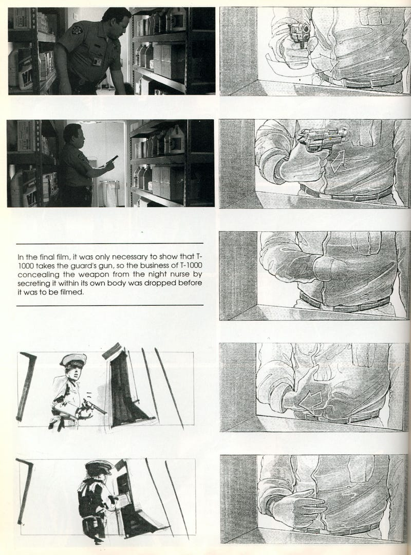 Terminator 2 Storyboards Show The Destruction Of Skynet
