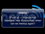 Notifo Sends Push Notifications from Popular Services or the Command Line to Your iPhone