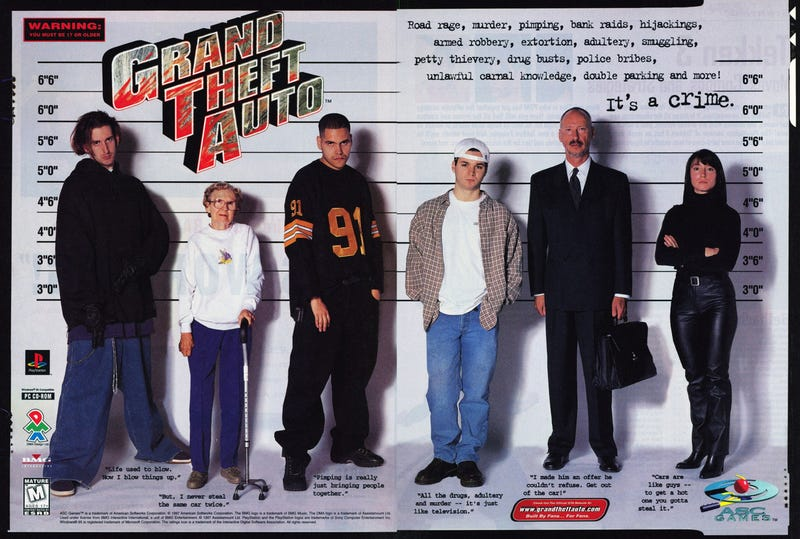 """There Once Was a Time Grand Theft Auto Wasn't Quite so """"Cool"""""""
