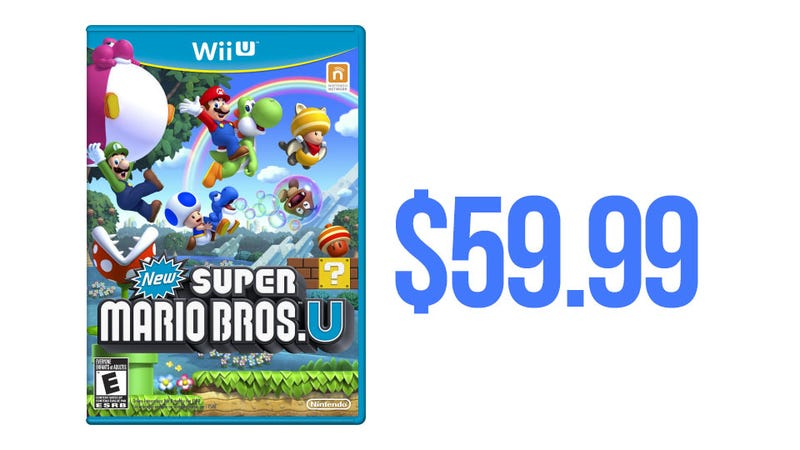 Wii U Games Will Cost $59.99