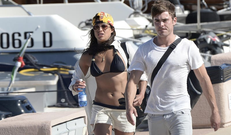 So Zac Efron and Michelle Rodriguez Are Friends...