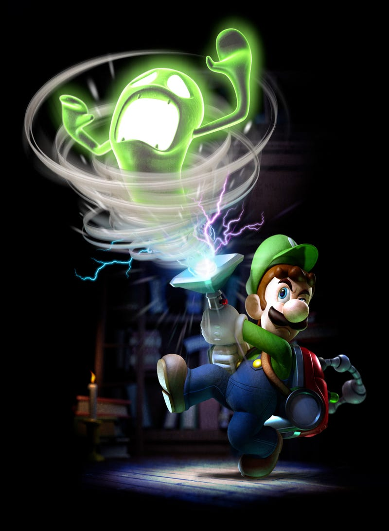Great, Official Luigi's Mansion: Dark Moon Artwork Justifies New Luigi's Mansion: Dark Moon Preview