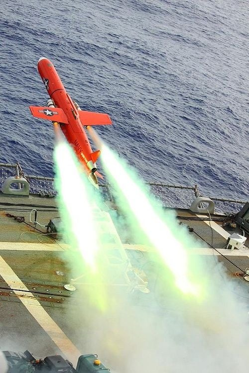 Even The Navy's Fake Missiles Are Awesome