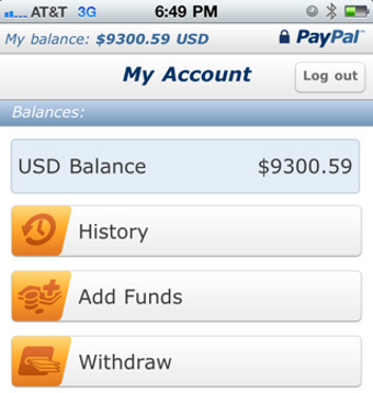 PayPal for iPhone Deposits Checks via Camera