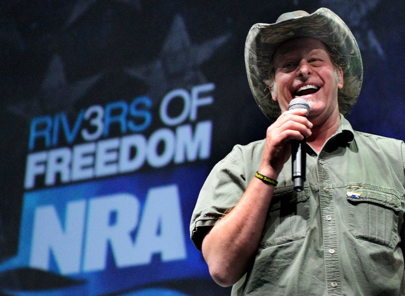 Ted Nugent Continues To Say Ridiculous Things, Continues To Be Treated Like A Person Who Matters