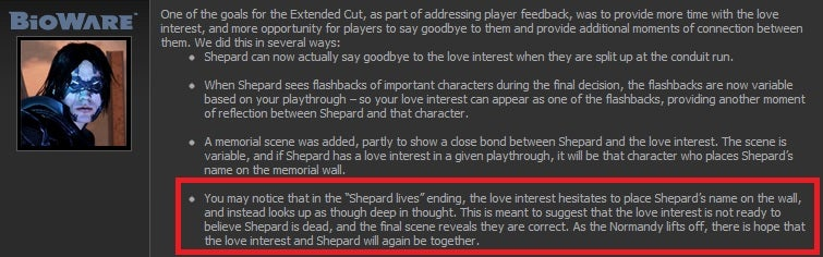 "BioWare Confirms What You Want To Know About The ""Red Ending"" of Mass Effect 3 [Spoilers]"
