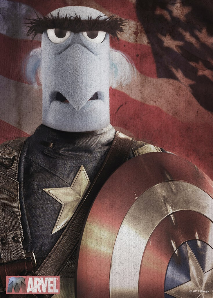 Sam The Eagle: the First Muppet Avenger