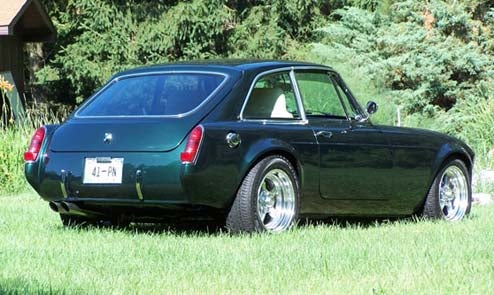 MGB-GT Gets Totally De-Leylandified During Ford V8 Upgrade, We Feel Great Envy