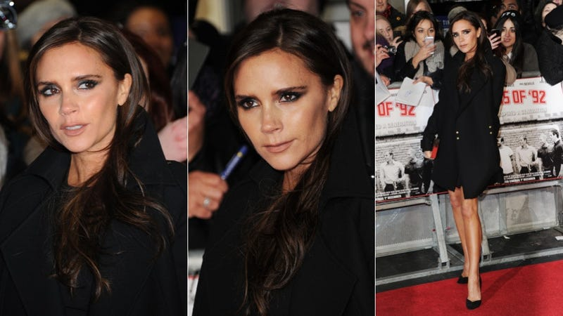 Victoria Beckham Has Got the Cat Eye of the Tiger