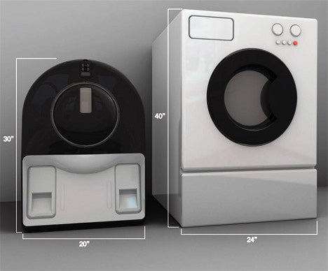 Recycling Washer/Dryer Concept