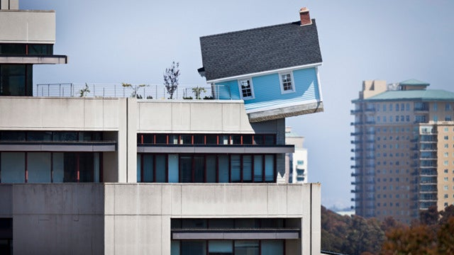 There Is a House Sprouting From Atop This 7-Story Building