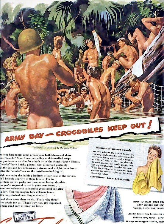 Vintage Towel Ads Reveal Our Changing Perceptions of Homoeroticism
