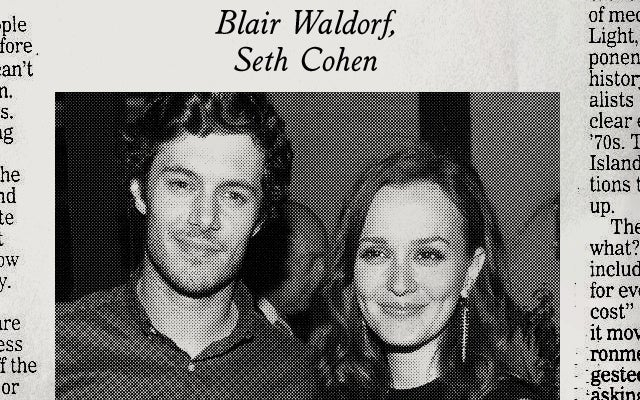 Blair Waldorf Marries Seth Cohen