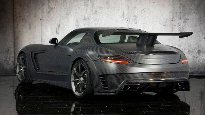 Mansory Cormeum is like a Mercedes SLS, only weirder