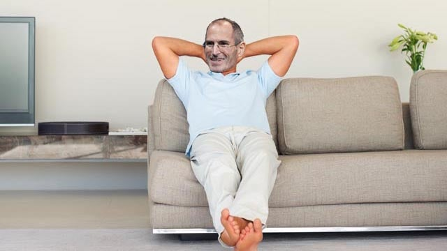 Steve Jobs is a Stay-at-Home CEO