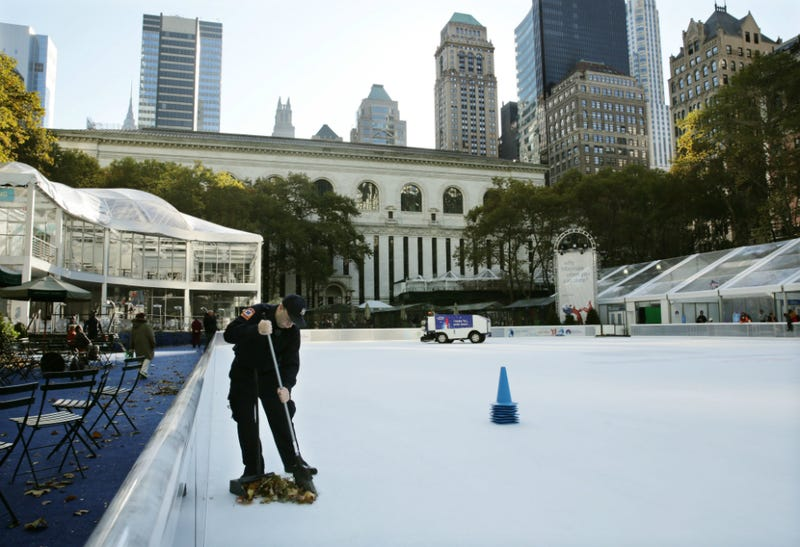 Gunfire Breaks Out at Bryant Park Skating Rink