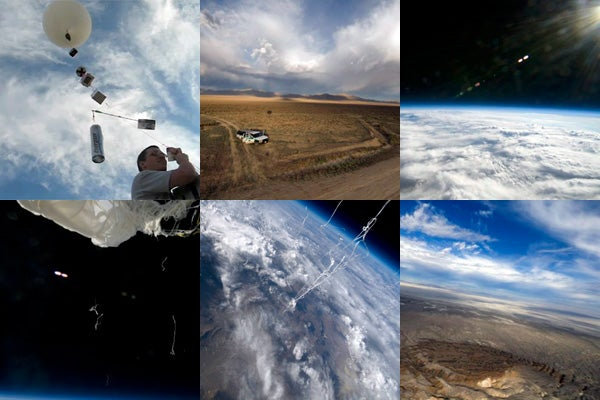 Lego Robot Sends Pictures from Space, Wishes It Had Lasers to Annihilate Us All