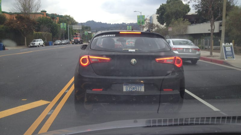 What's Your Deal, Mystery Chrysler-Grilled Alfa Romeo Hatchback?
