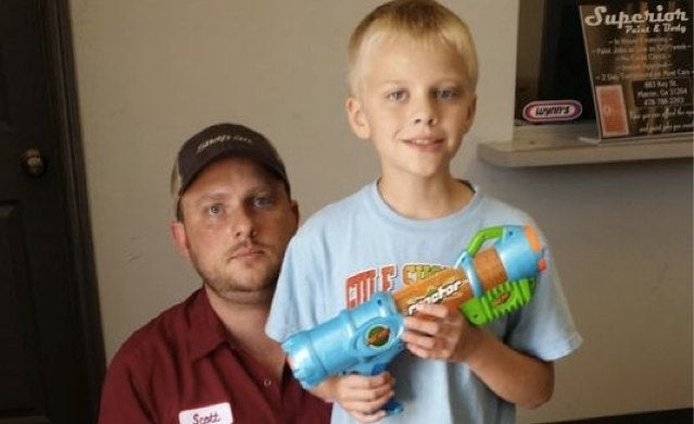 Fourth Grader Suspended for Bringing Nerf Gun to Show and Tell