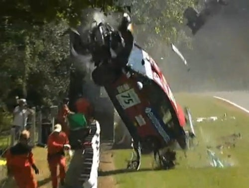 How Did This Crash Not Kill Anyone?